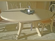Table Fontaine Ovale Avec 2 Allonges -